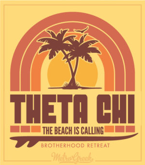 Brotherhood Retreat Shirt Theta Chi
