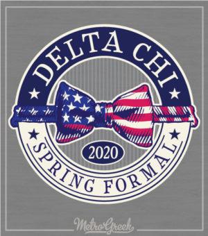 Delta Chi Formal Shirt Bow Tie