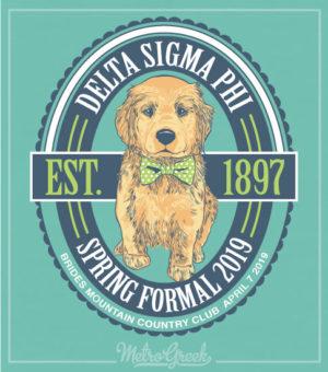 Delta Sigma Phi Formal Shirt Puppy