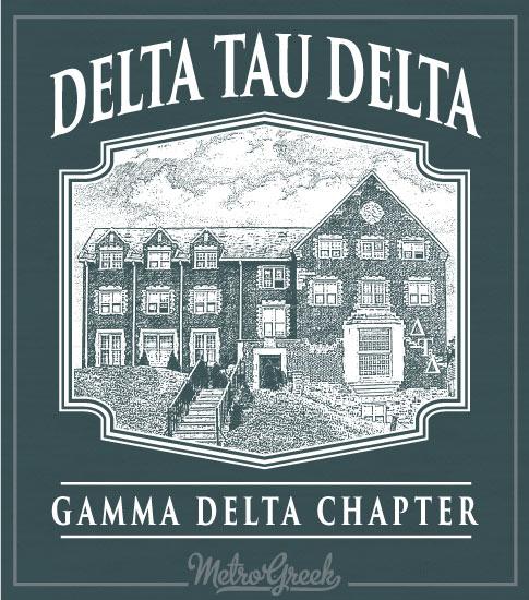 Delta Tau Delta Fraternity House Shirt