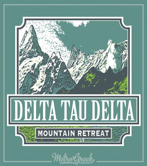 Delta Tau Delta Mountain Retreat Shirt