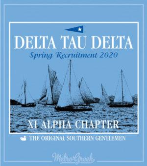 Delta Tau Delta Rush Shirt Regatta