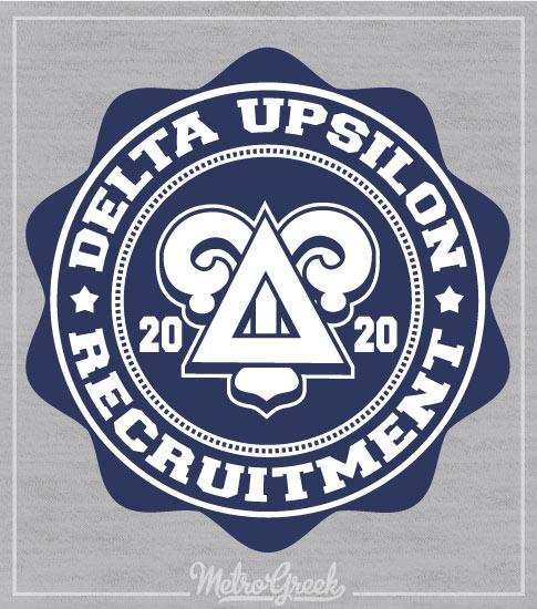 Delta Upsilon Rush Shirt Seal