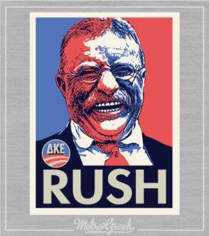 DKE Rush Shirt Teddy Roosevelt