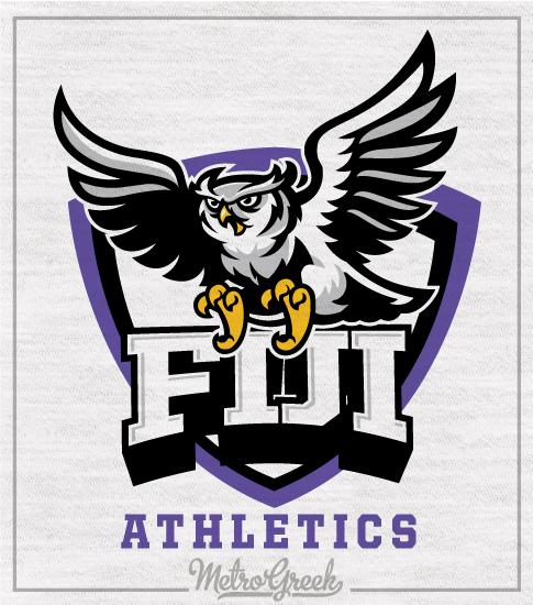 Fiji Athletics Shirt Snowy Owl