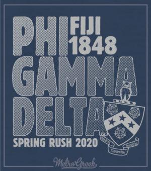 Phi Gamma Delta Rush Shirt
