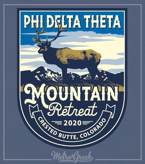 Phi Delta Theta Mountain Retreat Shirt