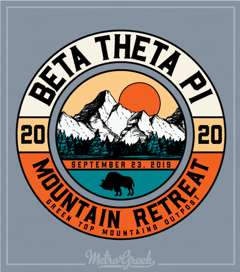 Fraternity Brotherhood Retreat Shirt Beta