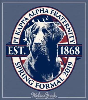 Pike Fraternity Formal Shirt Black Lab