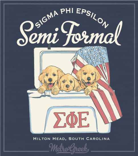 Fraternity Formal Shirt Sig Ep Puppies