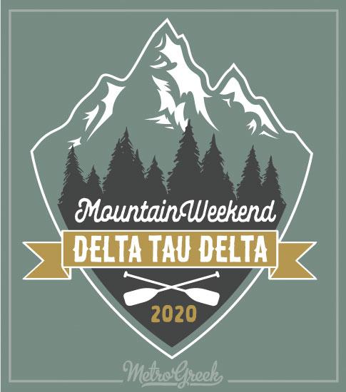 Fraternity Mountain Retreat Shirt Delts