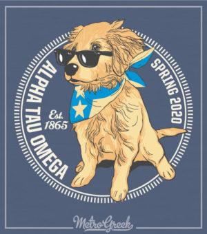Fraternity Rush Shirt Golden Puppy