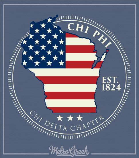 Chi Phi American State Rush Shirt