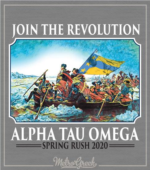 Fraternity Rush Shirt Washington Delaware