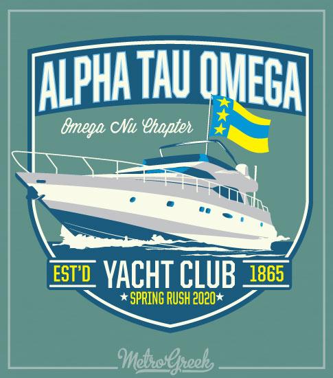 Fraternity Rush Shirt Yacht Club
