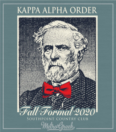 Kappa Alpha Order Robert E Lee Formal