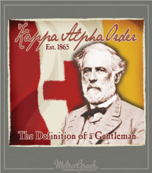 Kappa Alpha Rush Shirt Robert E Lee