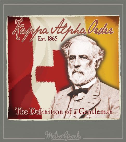Kappa Alpha Rush Shirt Robert E Lee