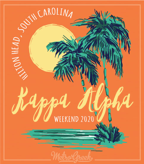 Kappa Alpha Order Tropical Rush Shirt