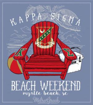 Kappa Sigma Beach Weekend Shirt