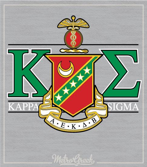 Kappa Sigma Crest Rush Shirt