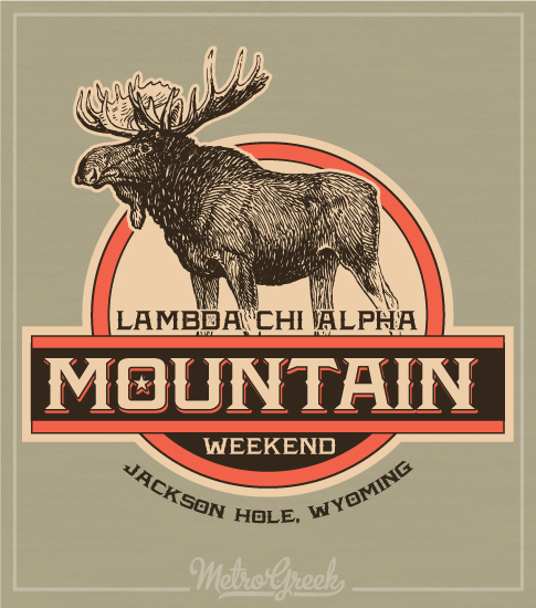 Lambda Chi Mountain Weekend Shirt