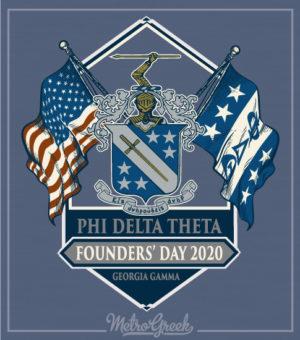 Phi Delta Theta Founders Day Shirt