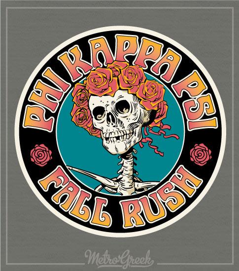 Phi Kappa Psi Rush Shirt Deadhead