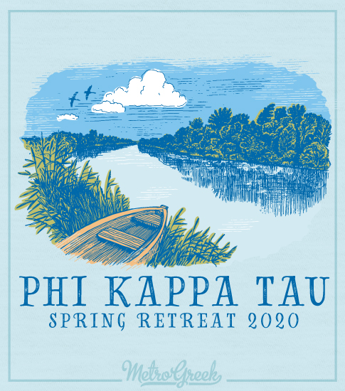 Phi Kappa Tau Brotherhood Retreat Shirt