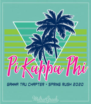Pi Kappa Retro Seventies Rush Shirt