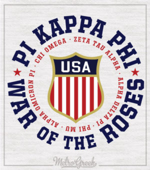 Pi Kappa Phi War of Roses Shirt