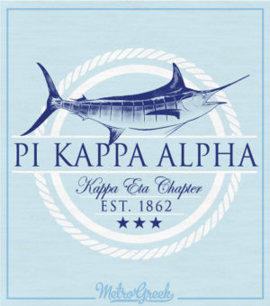 Pike Marlin Fraternity Rush Shirt