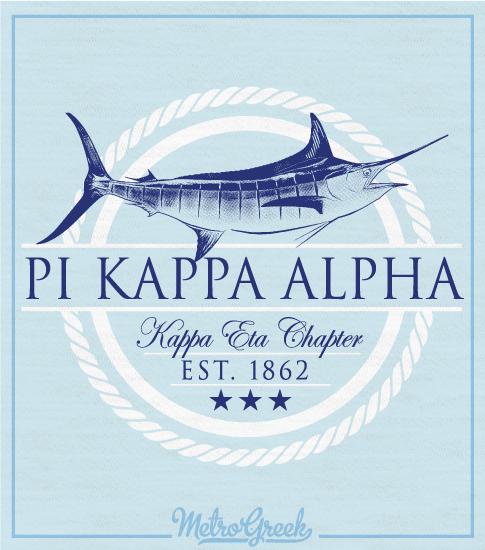 Pike Marlin Fraternity Rush Shirt