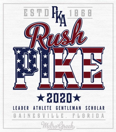 Pike Rush Shirt Americana Style