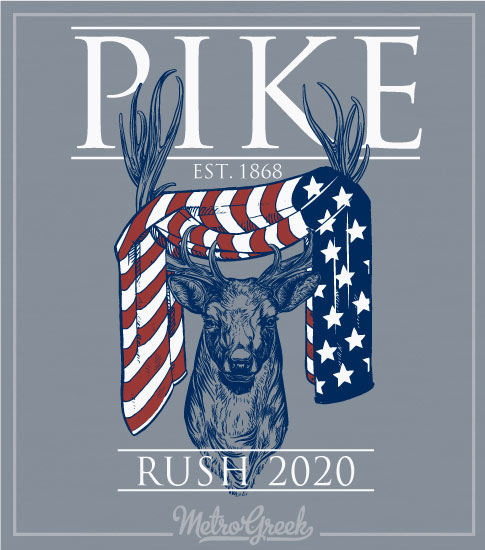 Pike Rush Shirt American Flag