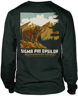 Sig Ep Brotherhood Retreat Shirt Bear
