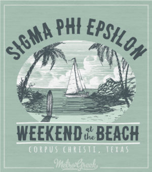 Sig Ep Brotherhood Weekend Beach Shirt