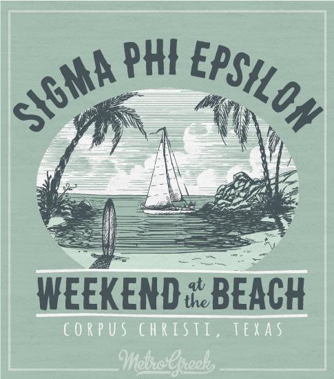 Sig Ep Brotherhood Weekend Beach Shirt