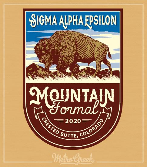SAE Mountain Formal T-shirt