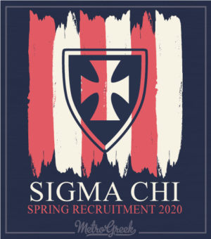 Sigma Chi Fraternity Rush Shirt With Cross