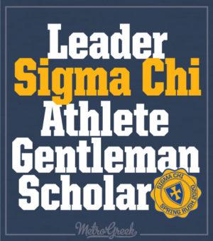 Sigma Chi Rush Shirts SLAG