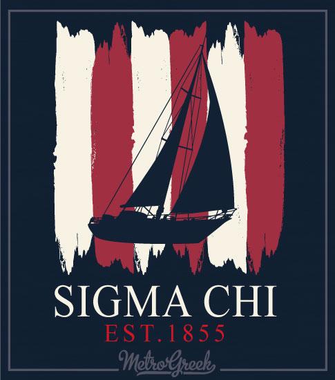 Sigma Chi Sailboat Rush Shirt