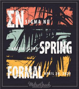 Sigma Nu Tropical Forma Shirt