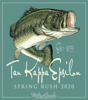 TEKE Fraternity Rush Shirt Bass