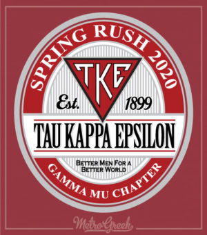 TKE Rush Shirt With Circle Label