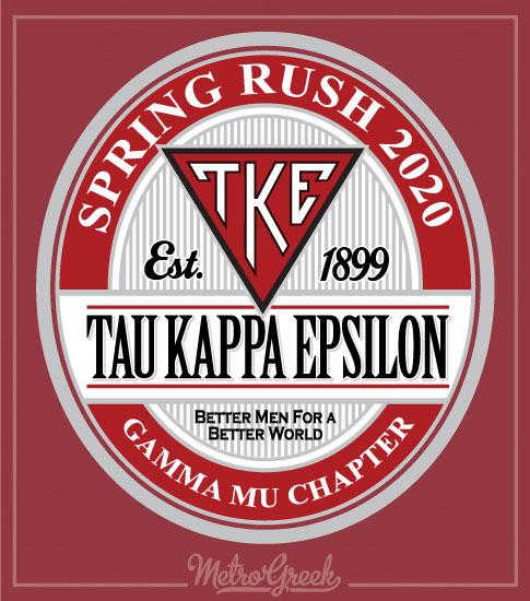 TKE Rush Shirt With Circle Label
