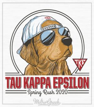 Teke Spring Rush Shirt Golden with Hat