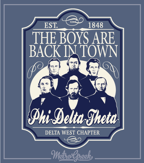 The Boys Are Back Phi Delta Shirt