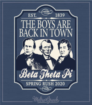 The Boys Are Back Rush Shirt Beta