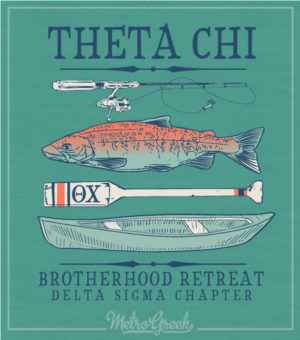 Theta Chi Brotherhood Retreat Shirt
